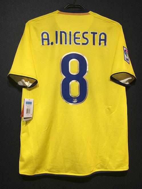 【2008/09】 / FC Barcelona / Away / No.8 A.INIESTA