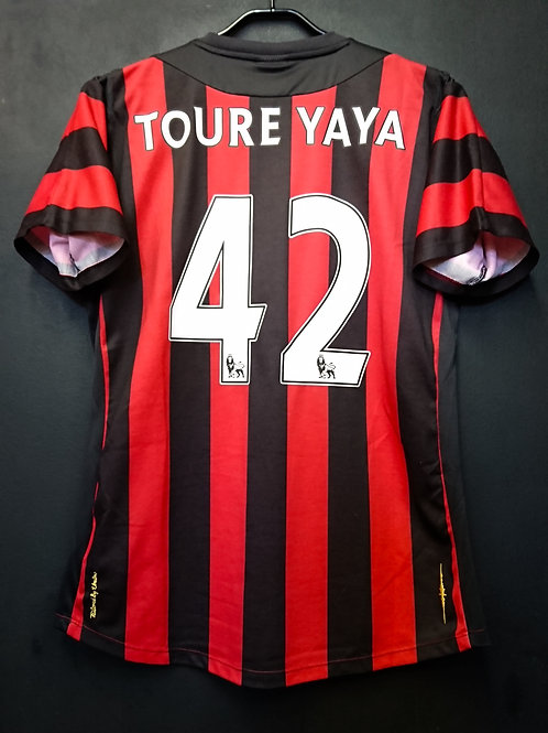 【2011/12】/ Manchester City / Away / No.42 TOURE YAYA