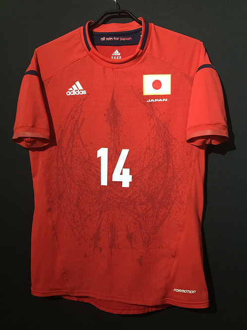 【2012】 / Japan / Away / Olympic Games / No.14 USAMI / Authentic