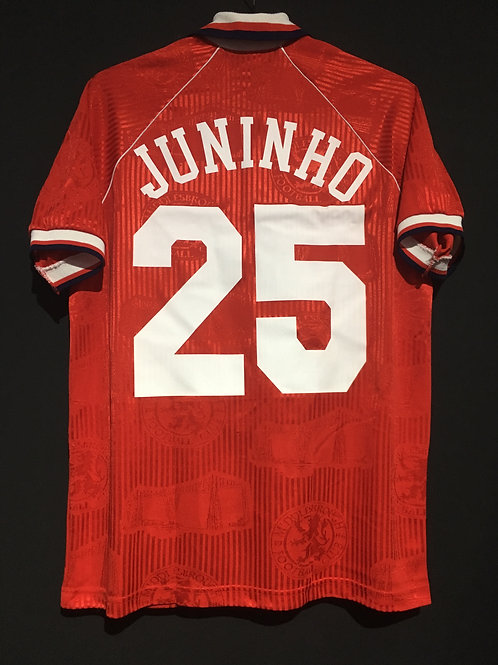 【1995/96】 / Middlesbrough F.C. / Home / No.25 JUNINHO
