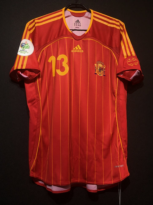 【2006】 / Spain / Home / No.13 A.INIESTA / FIFA World Cup / Authentic