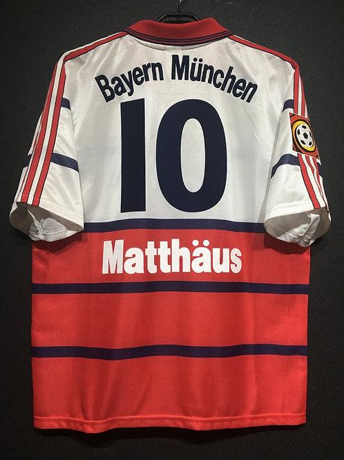 【1998/2000】 / FC Bayern Munich / Away / No.10 MATTHAUS