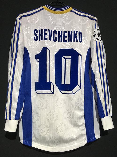 【1998/99】 / FC Dynamo Kyiv / Away / No.10 SHEVCHENKO / UCL