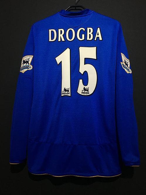 【2005/06】 / Chelsea / Home / No.15 DROGBA / 100th Anniv.