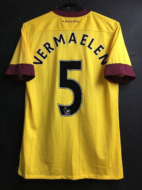 【2010/12】 / Arsenal / Away & 3rd / No.5 VERMAELEN