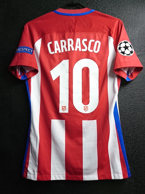 【2016/17】 / Atletico Madrid / Home / No.10 CARRASCO / UCL / Player Issue