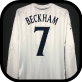 2001 England Beckham