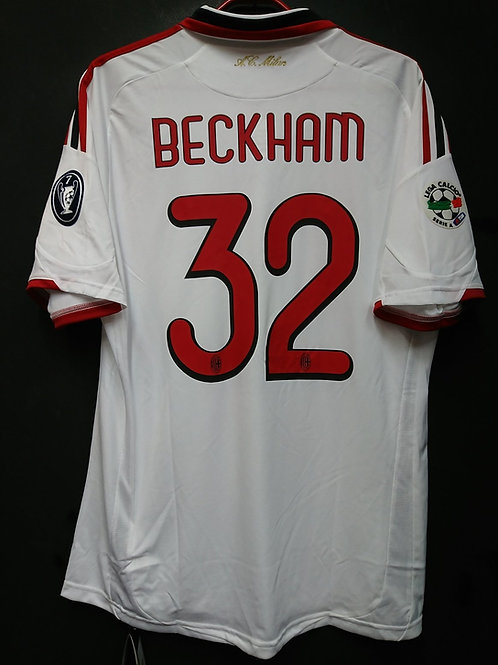 【2009/10】 / A.C. Milan / Away / No.32 BECKHAM