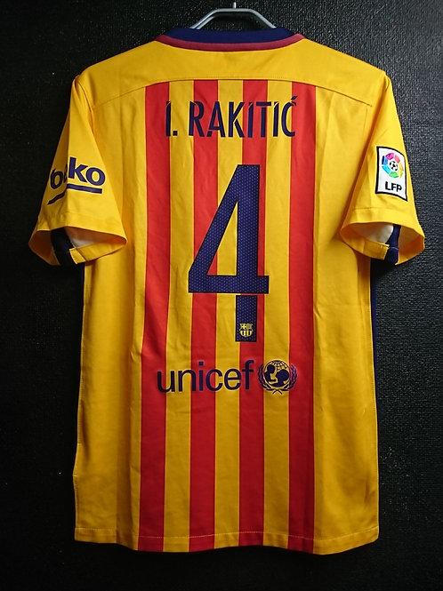 【2015/16】 / FC Barcelona / Away / No.4 I. RAKITIC