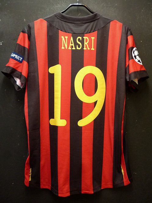 【2011/12】/ Manchester City / Away / No.19 NASRI / UCL