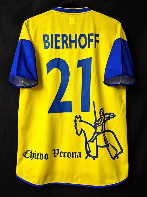 【2002/03】 / A.C. ChievoVerona / Home / No.21 BIERHOFF