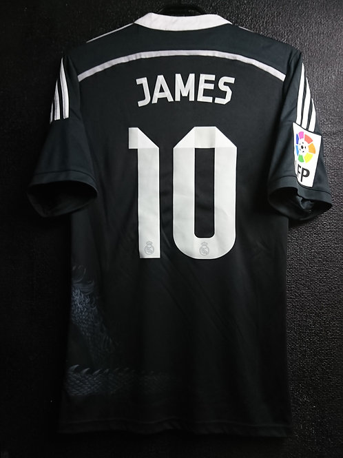 【2015】 / Real Madrid C.F. / 3rd / No.10 JAMES