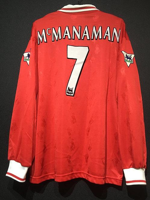 【1997/98】 / Liverpool F.C. / Home / No.7 McMANAMAN