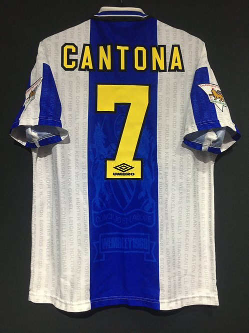 【1994/95】 / Manchester United / 3rd / No.7 CANTONA