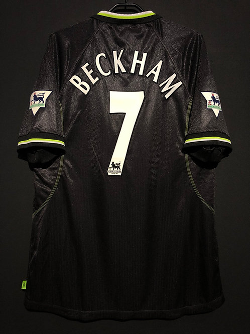 【1998/99】 / Manchester United / 3rd / No.7 BECKHAM / Player Issue