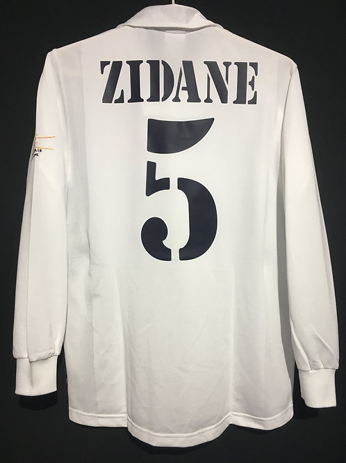 【2001/02】 / Real Madrid C.F. / Home / No.5 ZIDANE / 100th Anniv.