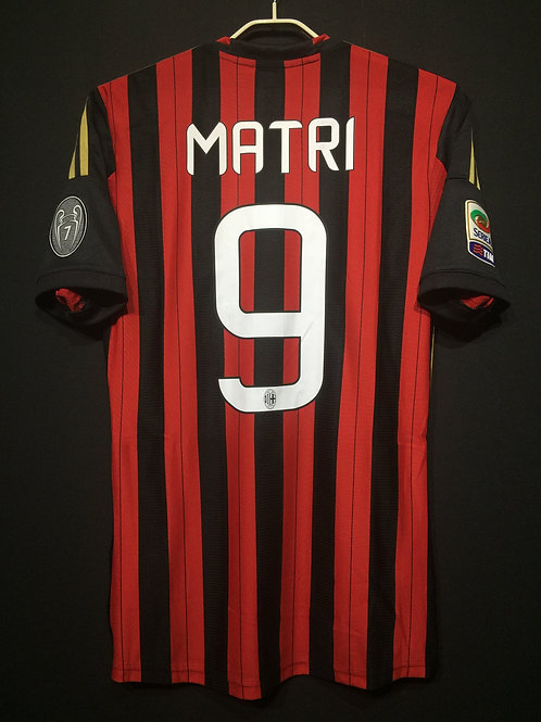 【2013/14】 / A.C. Milan / Home / No.9 MATRI / Authentic