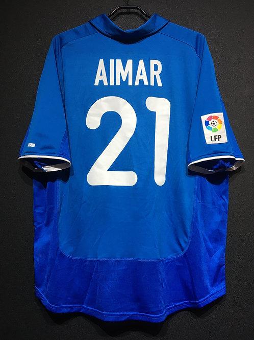【2001/02】 / Valencia CF / 3rd / No.21 AIMAR
