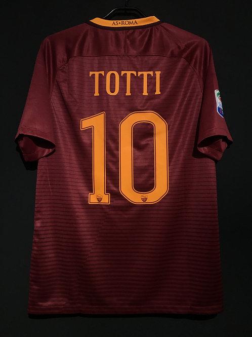 【2016/17】 / A.S. Roma / Home / No.10 TOTTI