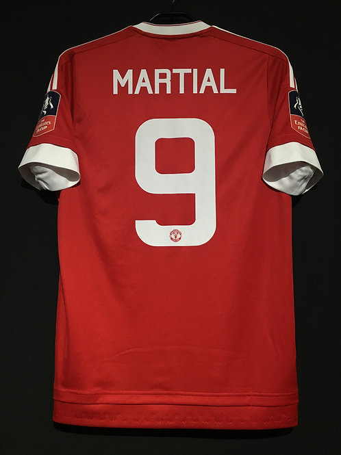 【2015/16】 / Manchester United / Home / No.9 MARTIAL / The Emirates FA Cup
