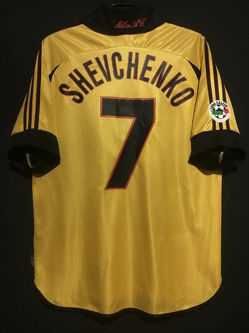 【1999/2000】 / A.C. Milan / 4th / No.7 SHEVCHENKO