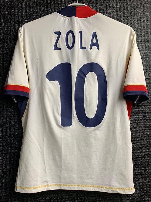 【2004/05】 / Cagliari / Away / No.10 ZOLA