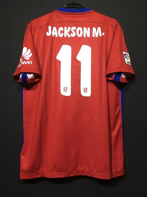【2015/16】 / Atletico Madrid / Home / No.11 JACKSON M.