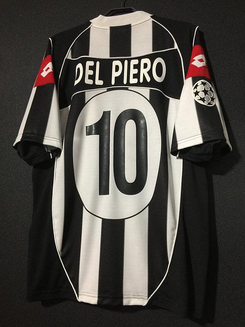 【2003】 / Juventus / Cup(Home) / No.10 DEL PIERO / UCL FINAL