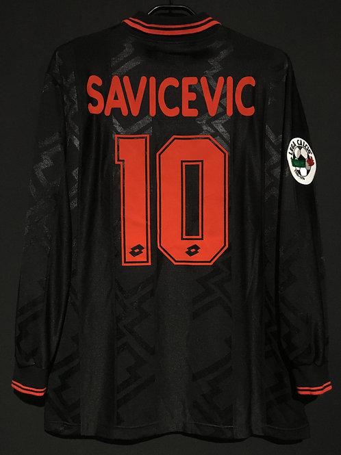 【1996/97】 / A.C. Milan / 3rd / No.10 SAVICEVIC