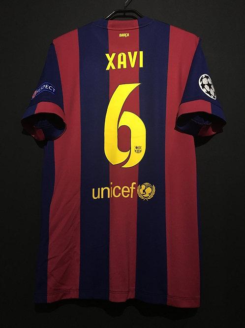 【2015】 / FC Barcelona / Home / No.6 XAVI / UCL FINAL
