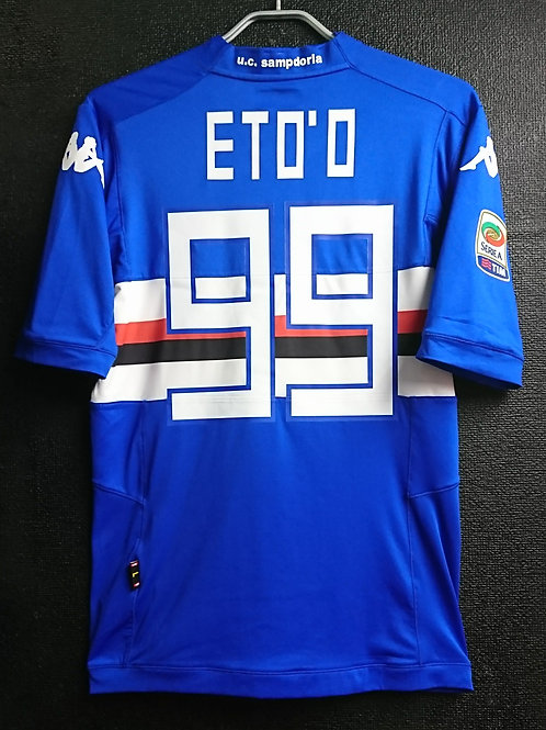 【2014/15】 / U.C. Sampdoria / Home / No.99 ETO'O
