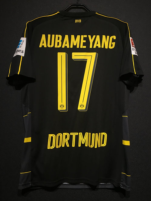 【2016/17】 / Borussia Dortmund / Away / No.17 AUBAMEYANG