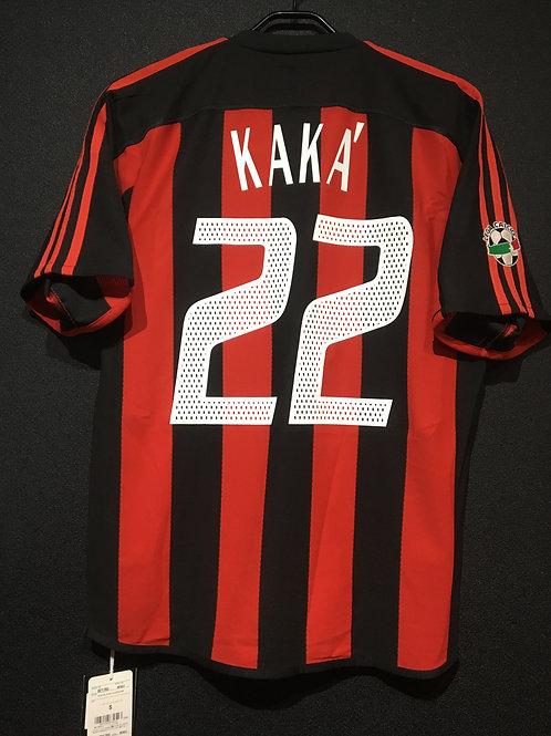 【2003/04】 / A.C. Milan / Home / No.22 KAKA