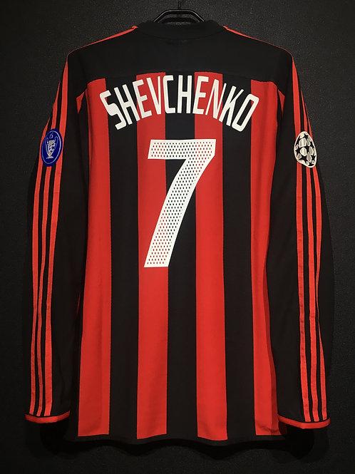 【2003/04】 / A.C. Milan / Home / No.7 SHEVCHENKO / UCL