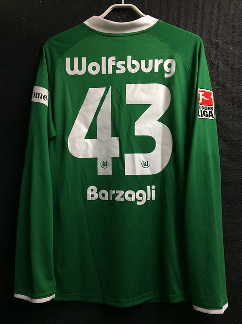 【2008/09】 / VfL Wolfsburg / Home / No.43 BARZAGLI
