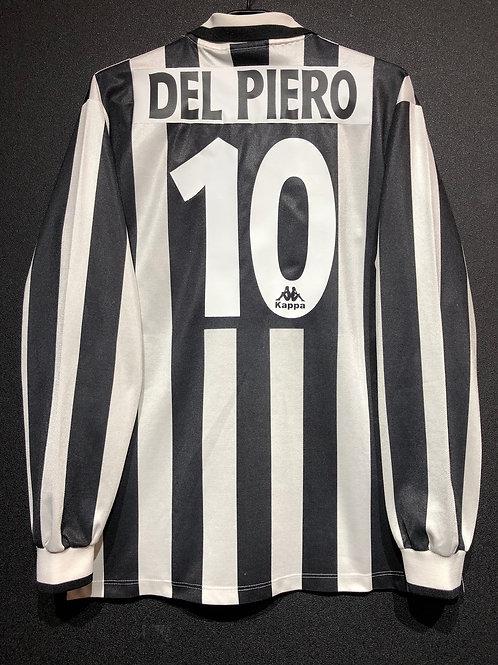 【1995/96】 / Juventus / Home / No.10 DEL PIERO