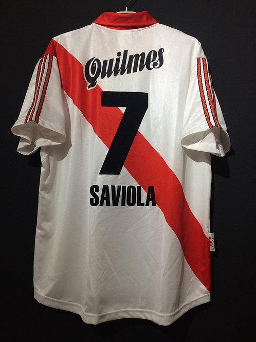 【1999/2000】 / River Plate / Home / No.7 SAVIOLA