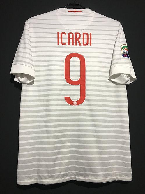 【2014/15】 / Inter Milan / Away / No.9 ICARDI