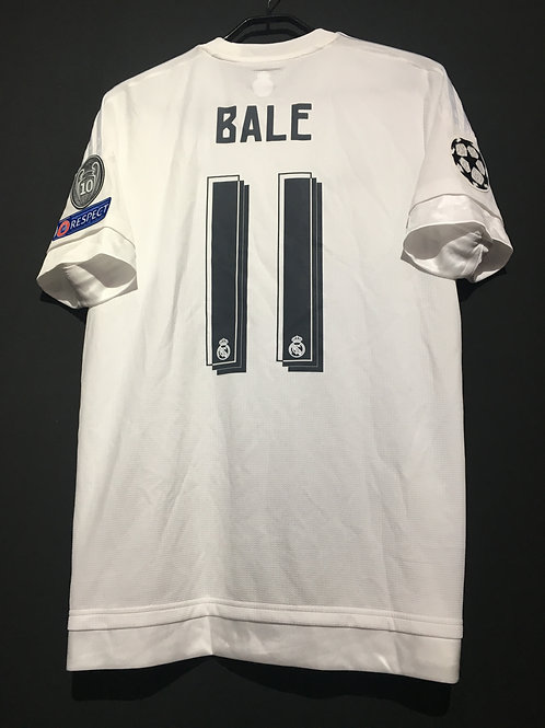 【2015/16】 / Real Madrid C.F. / Home / No.11 BALE / UCL
