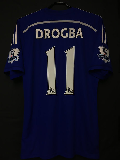 【2014/15】 / Chelsea / Home / No.11 DROGBA / Authentic