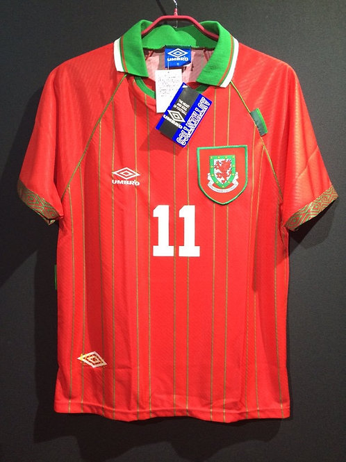 【1994/96】 / Wales / Home / No.11 GIGGS