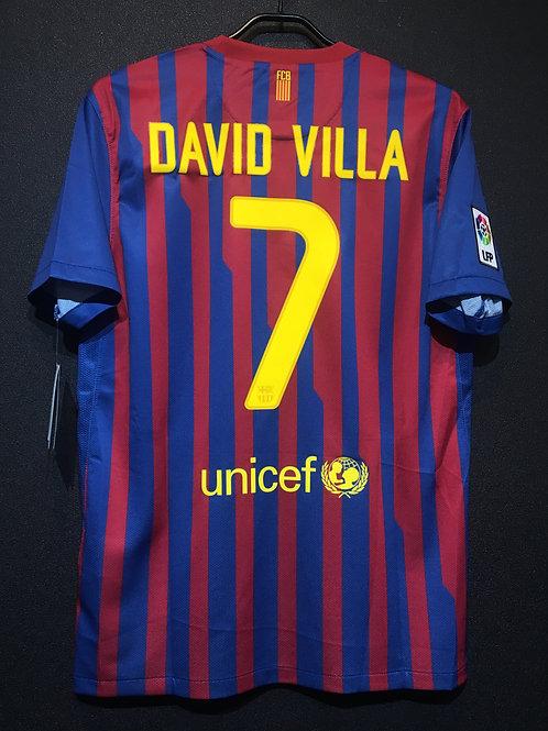 【2011/12】 / FC Barcelona / Home / No.7 DAVID VILLA