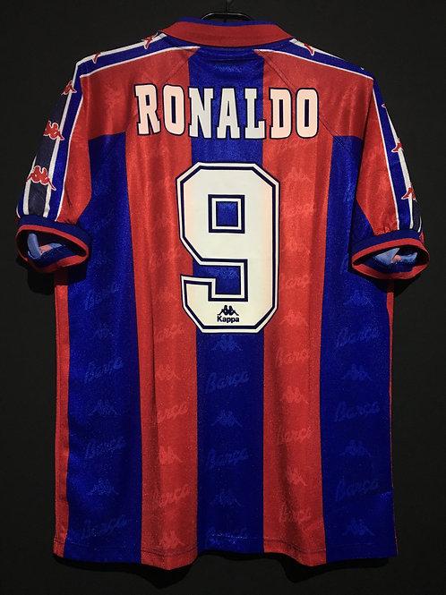 【1996/97】 / FC Barcelona / Home / No.9 RONALDO / EEC Edition