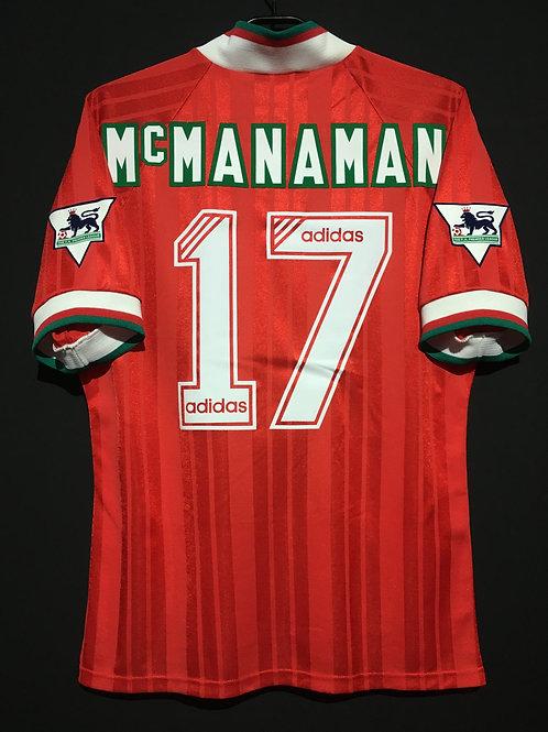 【1993/95】 / Liverpool / Home / No.17 McMANAMAN