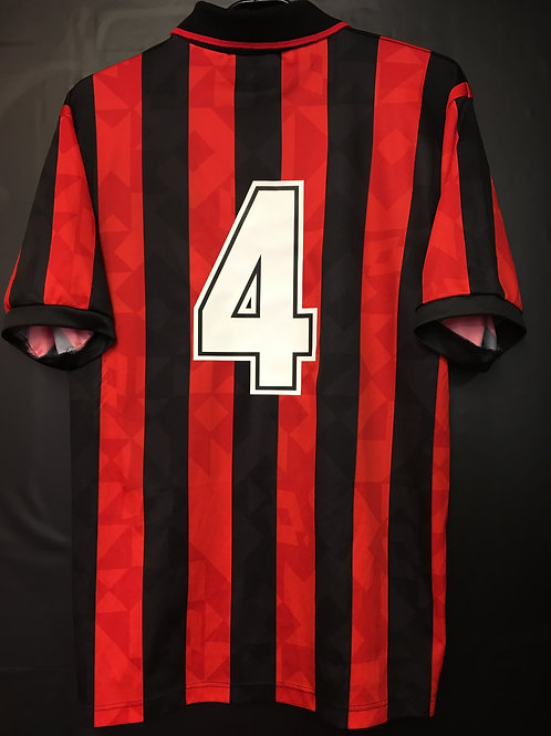 【1993/94】 / A.C. Milan / Home / No.4