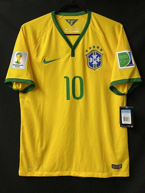 【2014】 / Brazil / Home / No.10 NEYMAR JR / FIFA World Cup