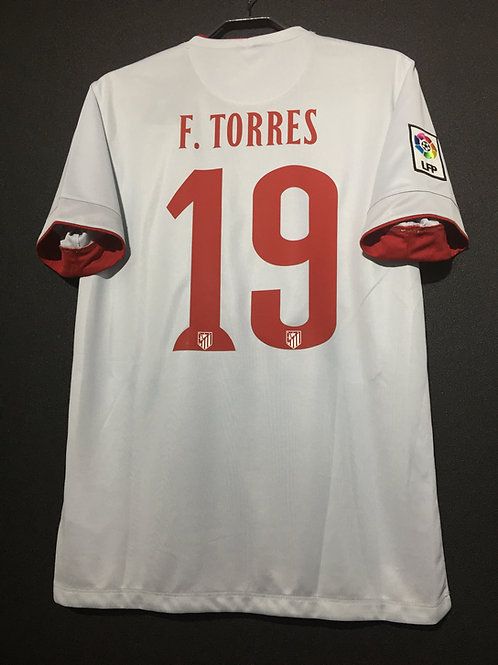 【2014/15】 / Atletico Madrid / Away / No19. F.TORRES