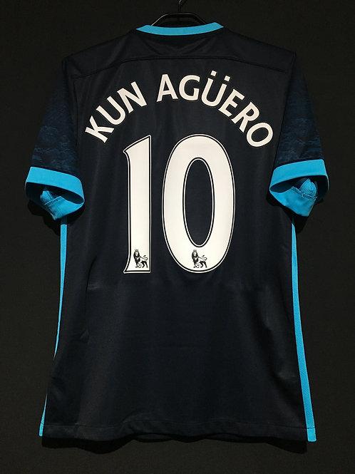 【2015/16】/ Manchester City / Away / No.10 KUN AGUERO