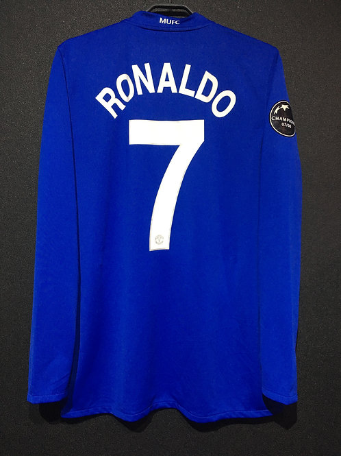 【2008/09】 / Manchester United / 3rd / No.7 RONALDO / UCL