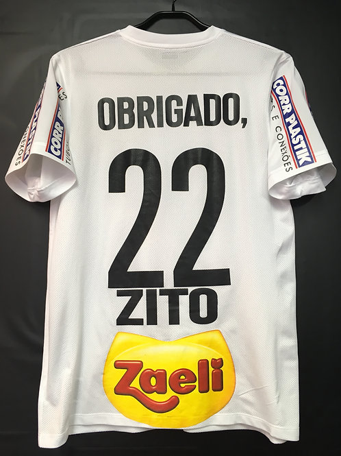 【2015】 / Santos FC / Home / No.22 ZITO / Tribute